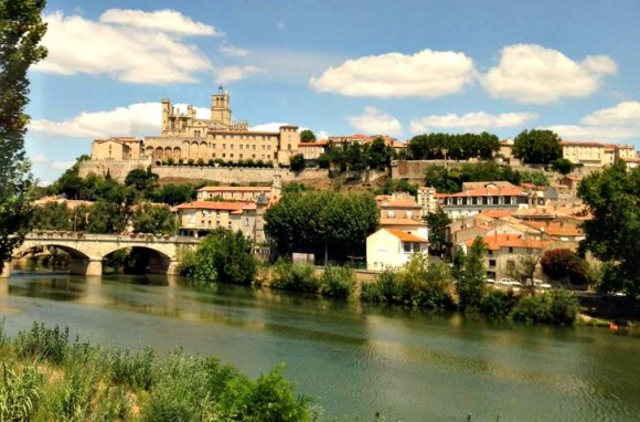 My SIL & niece's home for the next couple of weeks - Carcassone.  Thanks for the pic Marg :-)