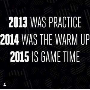 2015 new year resolution