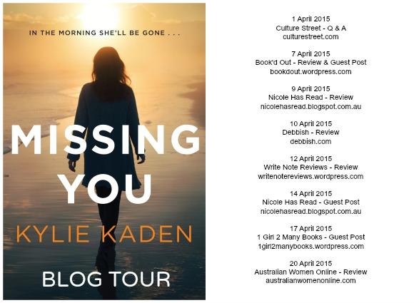 Kylie kaden blog tour