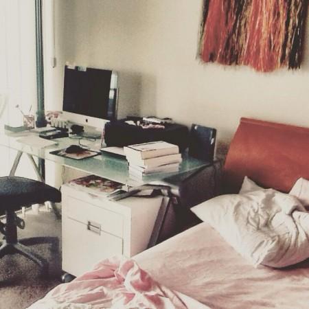 office in my bedroom
