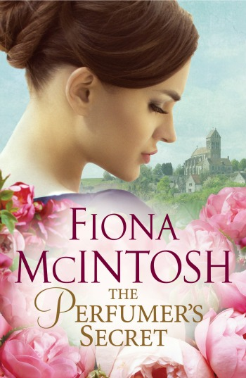Fiona loved the idea of a 'scratch & sniff' cover but realised it could be overpowering for booksellers!