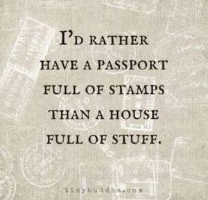 not a traveller