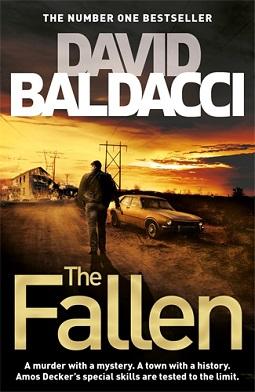 book review  fallen  david baldacci debbish