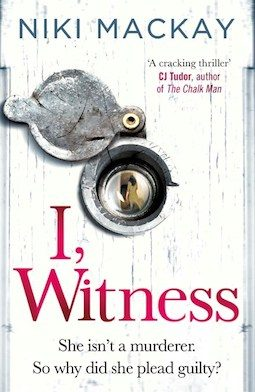 Book review: I, Witness by Niki Mackay