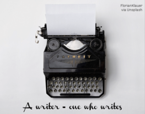 one who writes