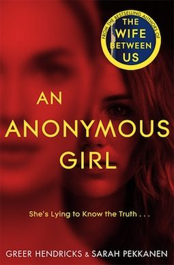 Book club questions for an anonymous girl